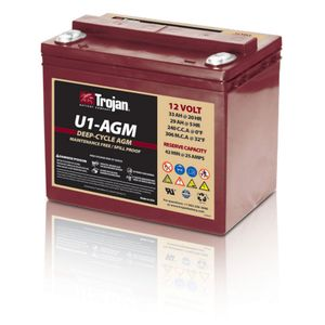 Trojan U1-AGM Deep Cycle Battery U1AGM
