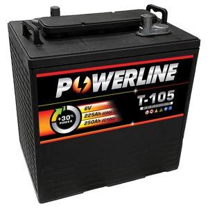 T105 Powerline Battery Deep Cycle 225Ah