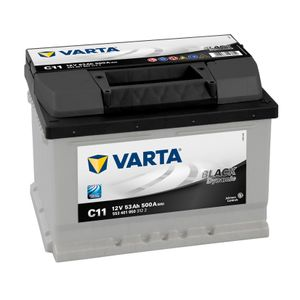 Type 065 Varta Black Dynamic Car Battery 12V 53Ah  (Short Code: C11) replaces C10