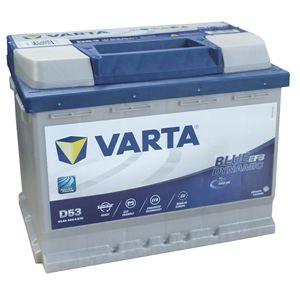 N60 D53 Varta Start-Stop EFB Car Battery 12V 60Ah (560500056)