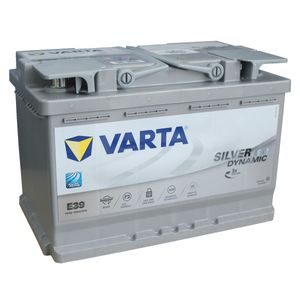 E39 Varta Start-Stop Plus 096 AGM Car Battery 12V 70Ah (570901076)