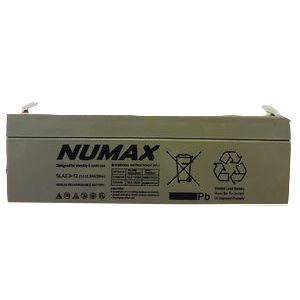 SLA2.3-12 Numax/Lucas Sealed Lead Acid Battery 2.3Ah