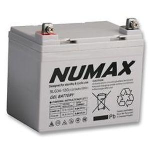 Numax SLC34-12 Sealed Lead Acid Battery 12V 34Ah (U1 Size Battery) FNC12340