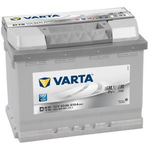 D15 Varta Silver Dynamic Car Battery 63Ah
