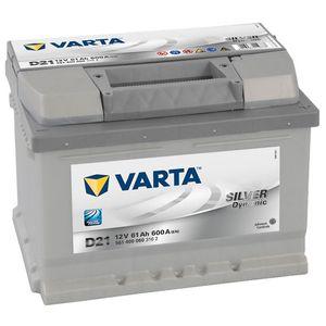 D21 Varta Silver Dynamic Car Battery 12V 61Ah