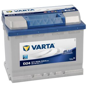 D24 Varta Blue Dynamic Car Battery 12V 60Ah (560408054) (027)