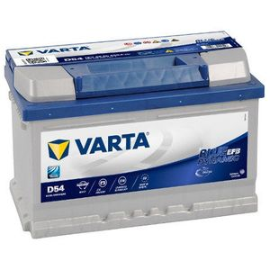 D54 Varta Start-Stop EFB Car Battery 12V 65Ah (565500065) Type 100