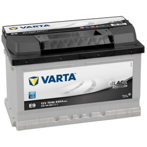 Type 010 Varta Black Dynamic Car Battery 12V 70Ah  (Short Code: D25 or E9) (Varta DIN: 570 146 064 or 570 144 064)
