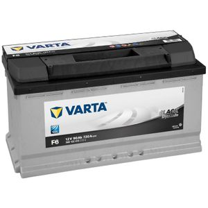 Type 017 Varta Black Dynamic Car Battery 12V 90Ah  (Short Code: F6) (Varta DIN: 590 122 072)