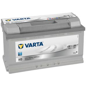 H3 Varta Silver Dynamic Car Battery 12V 100Ah
