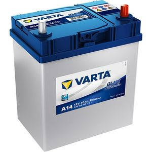 A14 Varta Blue Dynamic Car Battery 12V 40Ah (540126033) (054)