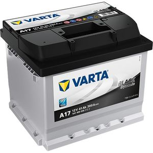 Type 007 Varta Black Dynamic Car Battery 12V 40Ah  (Short Code: A17)  (Varta DIN: 540 200 036 or 541 400 036)