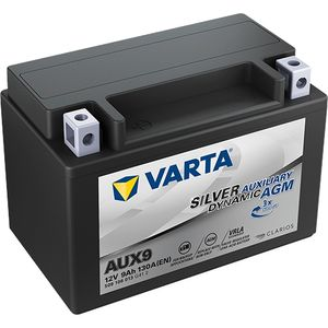 AUX9 Varta Silver Dynamic AGM Auxiliary Car Battery 9Ah