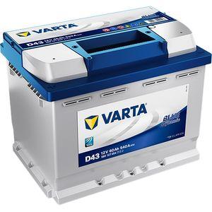 D43 Varta Blue Dynamic Car Battery 12V 60Ah (560127054) (078)