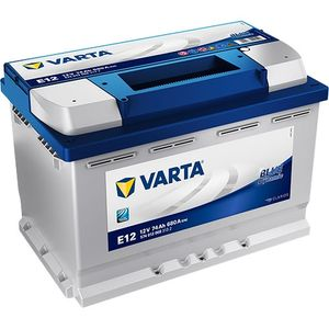 E12 Varta Blue Dynamic Car Battery 12V 74Ah (574013068) (096R 086)
