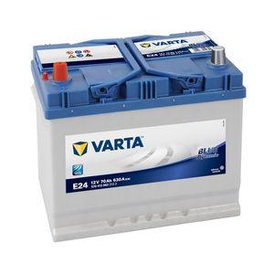 E24 Varta Blue Dynamic Car Battery 12V 70Ah (570413063) (069 071 072)