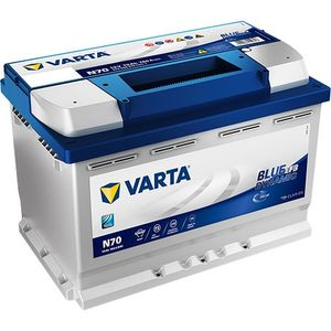 N70 Varta Start-Stop EFB Car Battery 12V 70Ah (570500076) Type 096