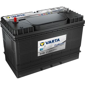 Varta H16 Trailer battery - Fits Many Ifor Williams Tipping Trailers