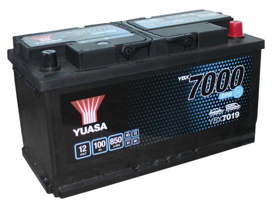 Yuasa YBX7019 12V 100Ah 850A EFB Start Stop Battery